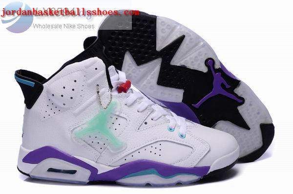 Sale Air Jordans 6 Retro white purple Shoes On 1TOPJORDAN