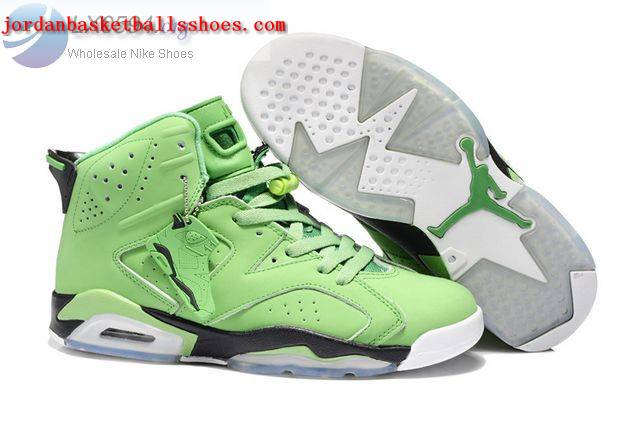 Sale Air Jordans 6 Retro green black Shoes On 1TOPJORDAN