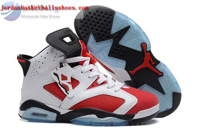 Sale Air Jordans 6 Women white red black Shoes On 1TOPJORDAN