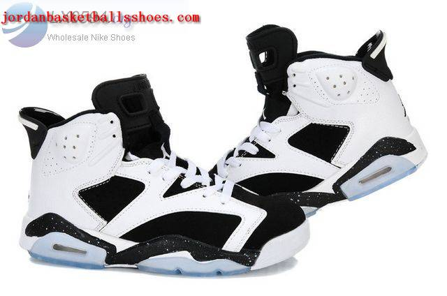 Sale Air Jordans 6 Women white black Shoes On 1TOPJORDAN