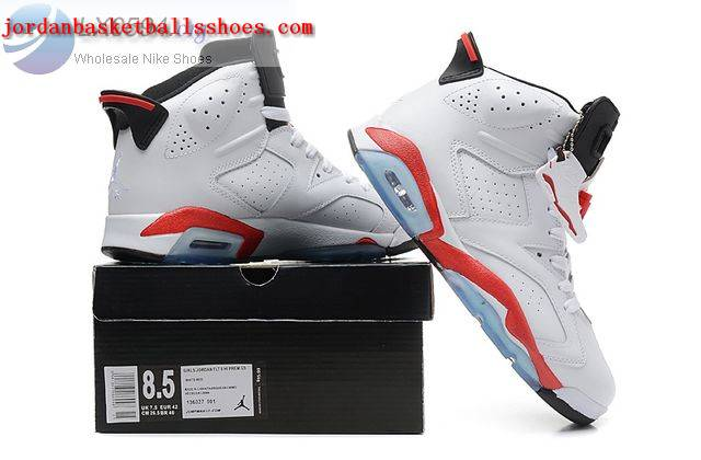 Sale Air Jordans 6 White Infrared Womens Shoes On 1TOPJORDAN