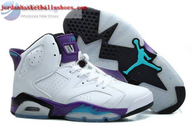 Sale Air Jordans 6 Grape White Womens Shoes On 1TOPJORDAN