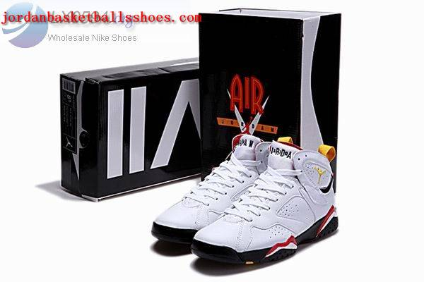 Sale Air Jordans 7 Retro white black red Shoes On 1TOPJORDAN