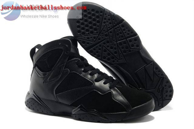 Sale Air Jordans 7 Retro All Black Shoes On 1TOPJORDAN