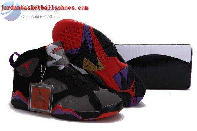 Sale Air Jordans 7 Women black grey red gold Shoes On 1TOPJORDAN