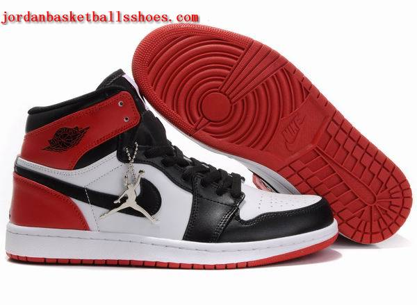 Sale Classic Air Jordans retro 1 white black red Shoes On 1TOPJORDAN