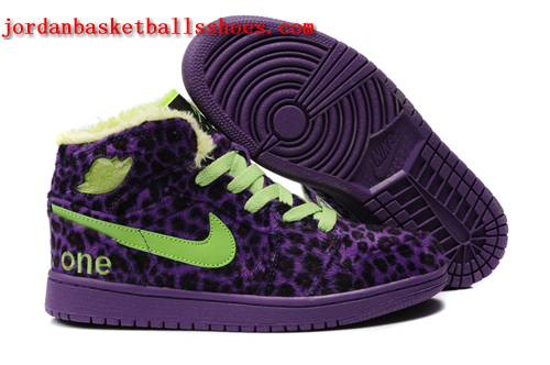 Sale Air Jordans 1 cheetah print sneakers purple green Shoes On 1TOPJORDAN