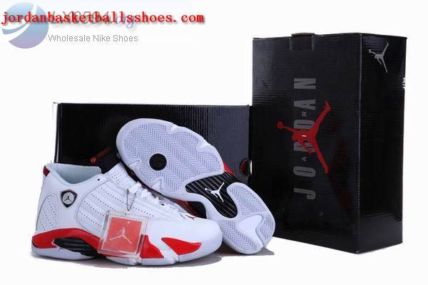 Sale Air Jordans 14 Retro white red Shoes On 1TOPJORDAN
