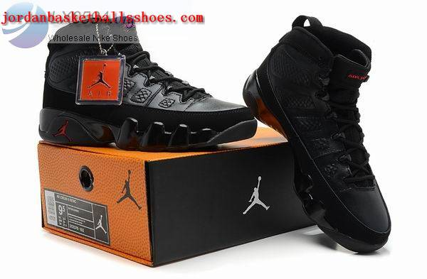 Sale Air Jordans 9 Retro all black Shoes On 1TOPJORDAN
