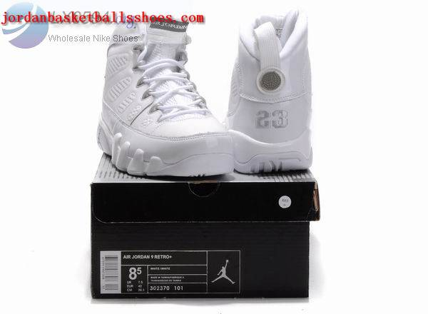 Sale Air Jordans 9 Retro All white Shoes On 1TOPJORDAN