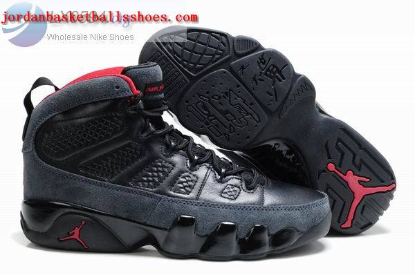 Sale Air Jordans 9 Retro black grey Shoes On 1TOPJORDAN
