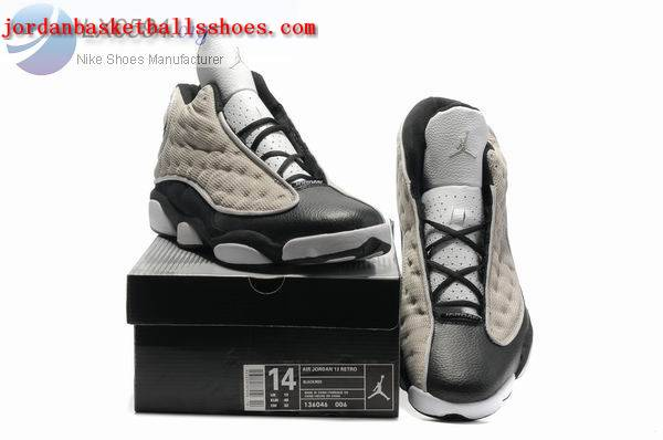Sale Air Jordans 13 Big Size US 14 15 grey black Shoes On 1TOPJORDAN