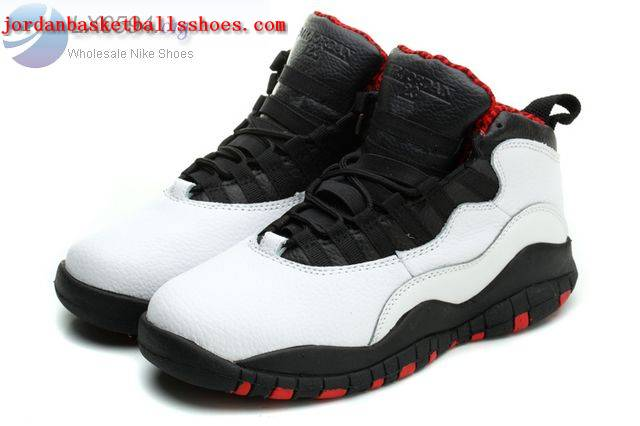 Sale Air Jordans 10 Women Chicago White Black True Red Shoes On 1TOPJORDAN