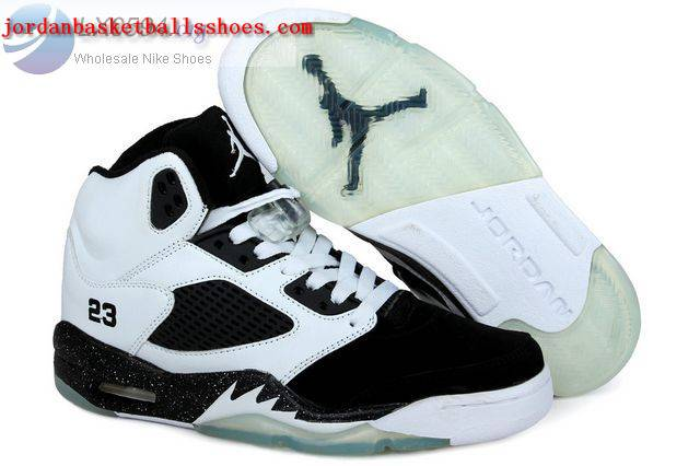 Sale Air Jordans 5 Women white black Shoes On 1TOPJORDAN