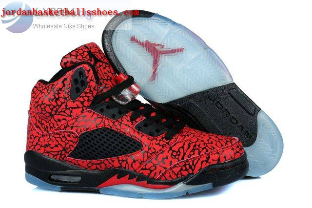 Sale Air Jordans 5 3Lab5 Red Womens Shoes On 1TOPJORDAN