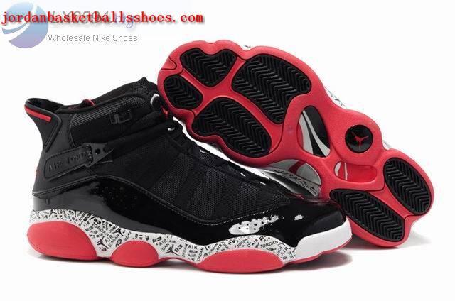 Sale Air Jordans 6 Rings black red Shoes On 1TOPJORDAN