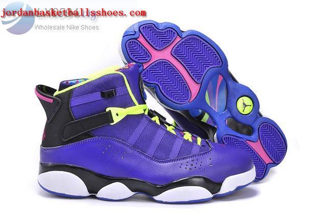 Sale Air Jordans 6 Rings Bel Air Purple Shoes On 1TOPJORDAN