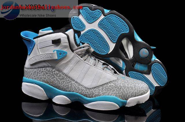 Sale Air Jordans 6 Rings Grey Elephant Print Shoes On 1TOPJORDAN