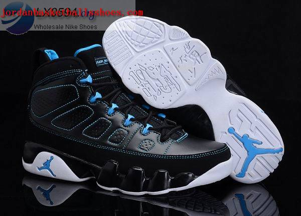 Sale Air Jordans 9 Retro black blue Shoes On 1TOPJORDAN