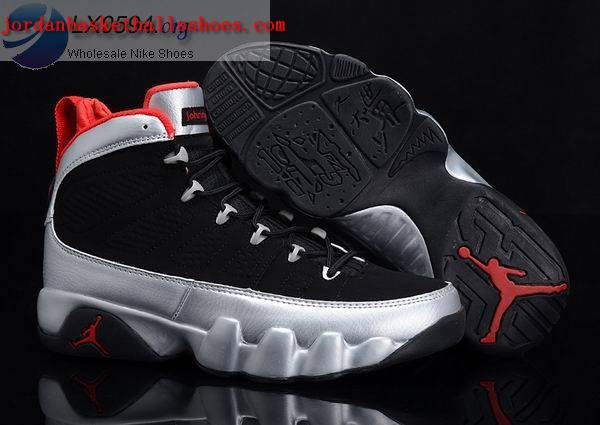 Sale Air Jordans 9 johnny kilroy black silver Shoes On 1TOPJORDAN