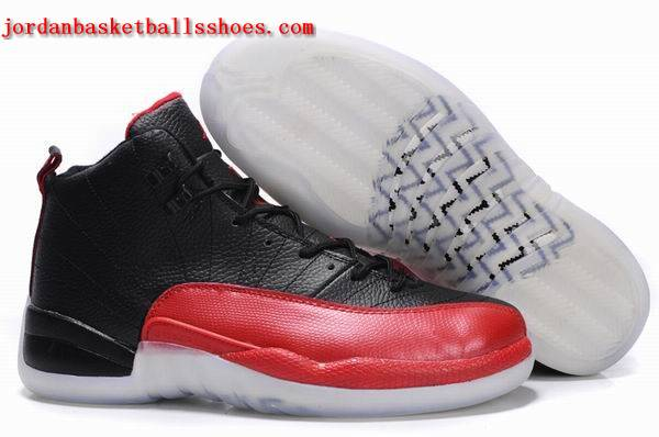Sale Air Jordans 12 retro black red sneakers Shoes On 1TOPJORDAN
