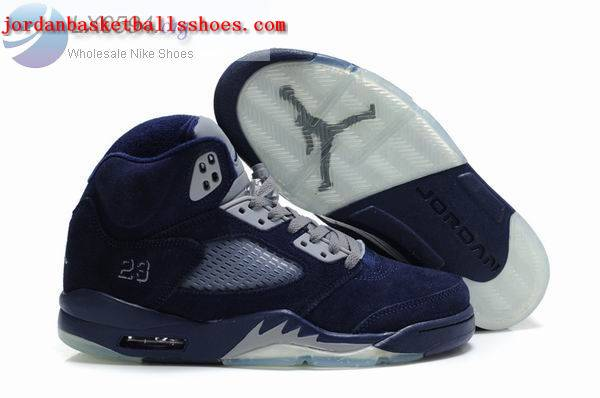 Sale Air Jordans 5 Women dark blue Shoes On 1TOPJORDAN