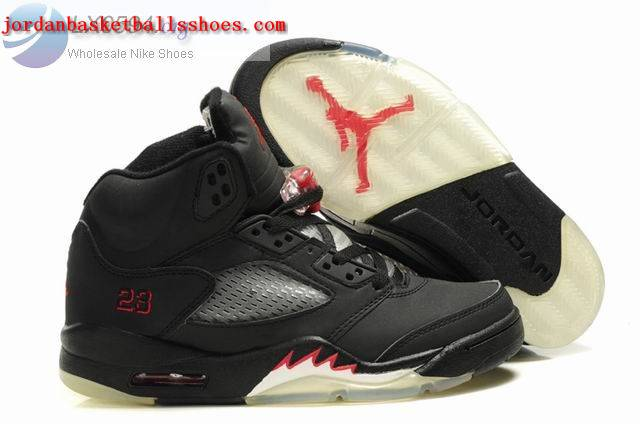 Sale Air Jordans 5 Women black Shoes On 1TOPJORDAN