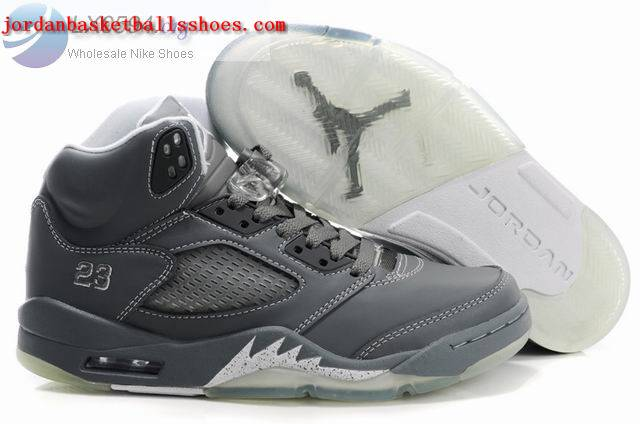 Sale Air Jordans 5 Women grey Shoes On 1TOPJORDAN