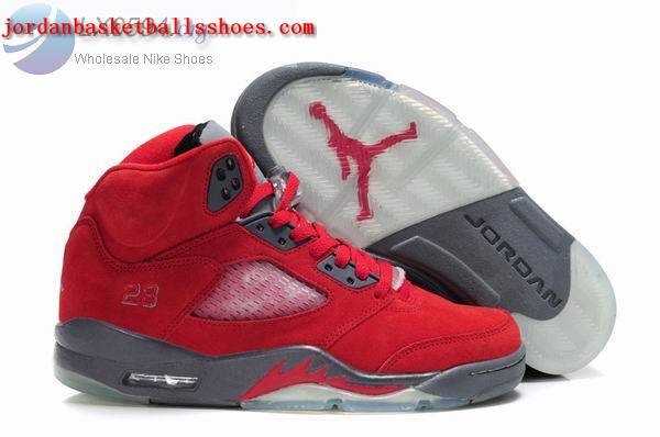 Sale Air Jordans 5 Women fire red grey Shoes On 1TOPJORDAN