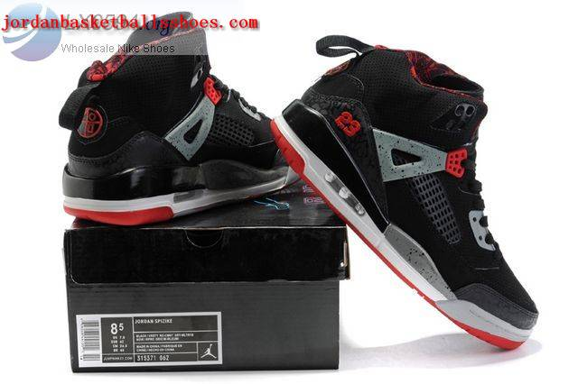 Sale Air Jordans Spizike black grey red Shoes On 1TOPJORDAN