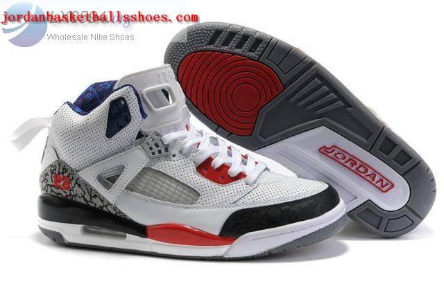 Sale Air Jordans Spizike white black red Shoes On 1TOPJORDAN