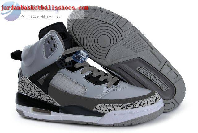 Sale Air Jordans Spizike grey black white Shoes On 1TOPJORDAN
