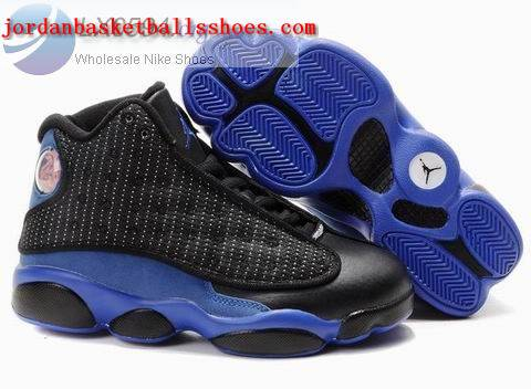 Sale Air Jordans 13 Kids black blue Shoes On 1TOPJORDAN