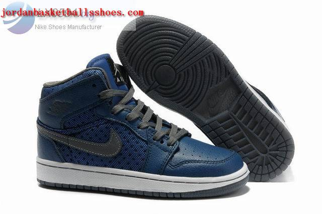 Sale Air Jordans 1 Phat Girls Blue grey white Shoes On 1TOPJORDAN