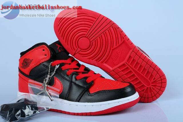 Sale Air Jordans 1 Bred Womens Black Red White Shoes On 1TOPJORDAN