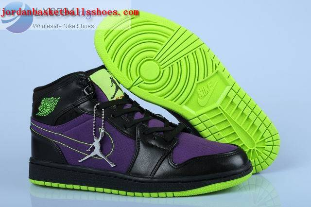 Sale Air Jordans 1 Trek Womens Black Purple Volt Shoes On 1TOPJORDAN