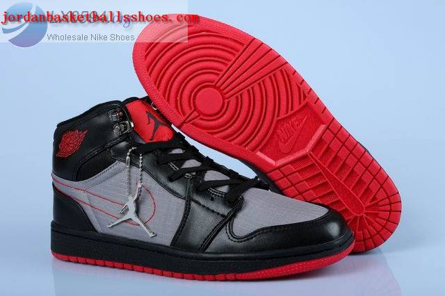 Sale Air Jordans 1 Trek Womens Black Grey Red Shoes On 1TOPJORDAN