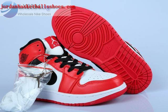 Sale Air Jordans 1 Womens White Black Red Shoes On 1TOPJORDAN