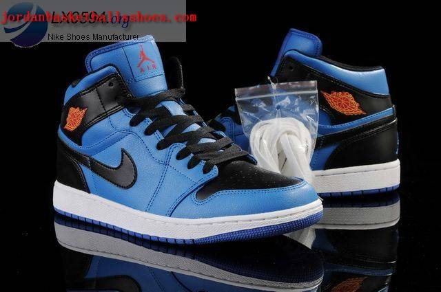 jordan 1 blue and black