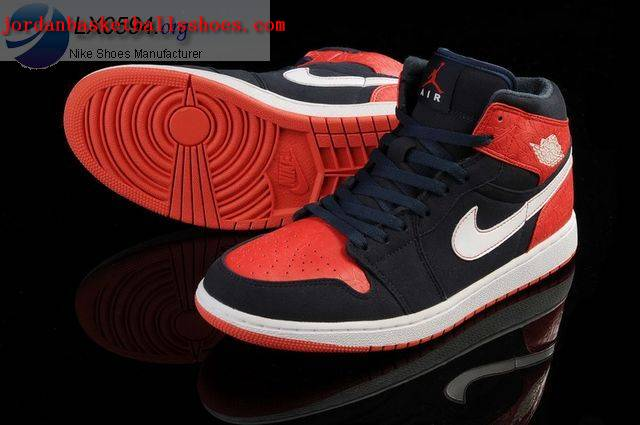 jordan 1 black red white