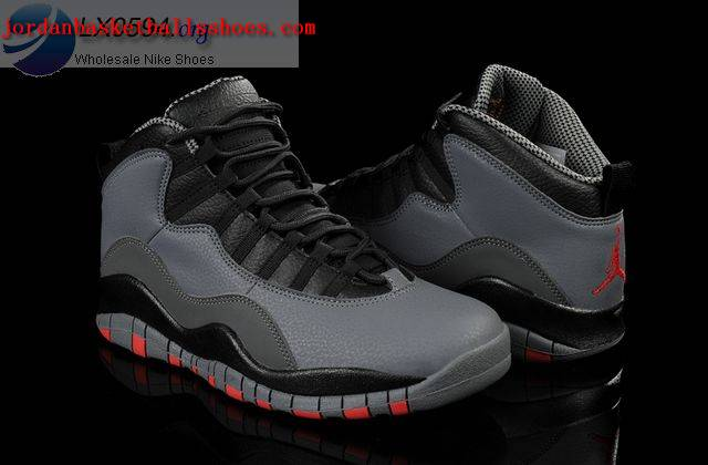 info for a760d 0b58a Sale Air Jordans 10 Retro Cool Grey Infrared Black Shoes On 1TOPJORDAN