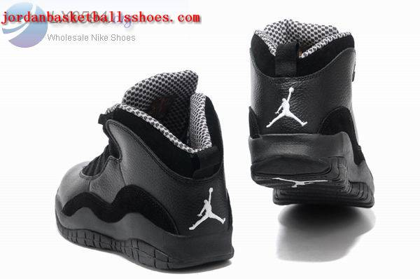 all black jordan retro 10