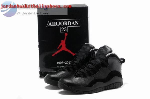 all black jordan retro 10