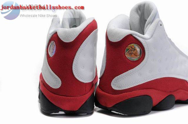 jordan 13 white red black