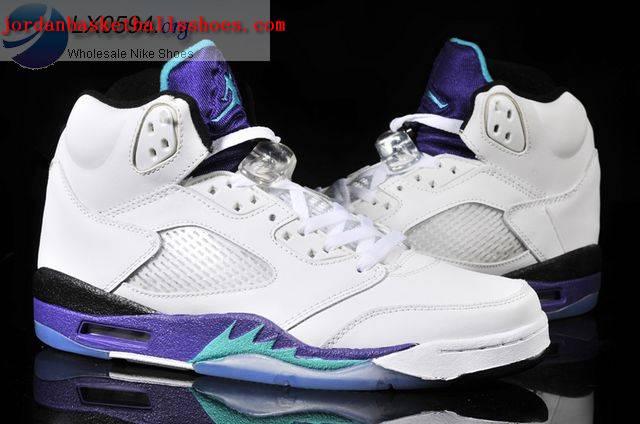 jordan 5 purple and white Shop Clothing