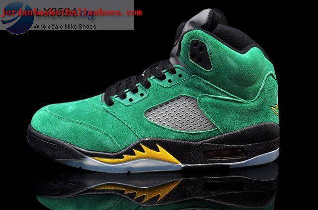 Air Jordan 5 Oregon Ducks