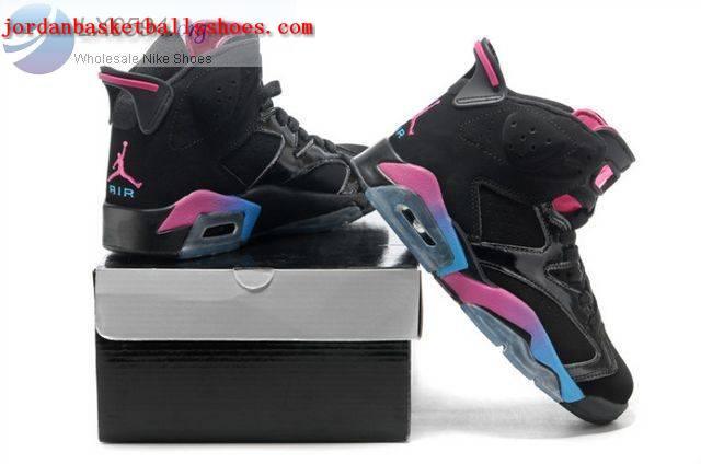 the best attitude cde88 fb330 ... find sneaker 8e1a2 6f02c Sale Air Jordans 6 Women black rainbow Shoes  On ...