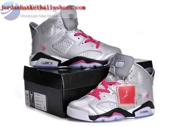 quality design 77877 155bc Sale Air jordan 6 GS Valentines Day Women Shoes On ...