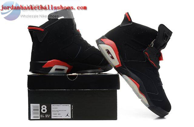 a122c3e43fb2 Sale Air jordan 6 Bred Womens Black Infrared Shoes On 1TOPJORDAN ...